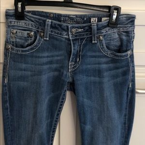 Miss Me Boot Cut Jeans size28